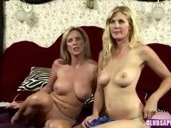 ClubSapphic - Jodi, Sinn, Lily and Kate Pair Off